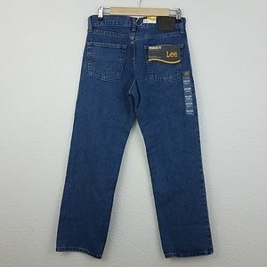 NWT Lee regular fit Bootcut Jean's pepper stone